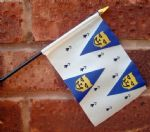 HAND WAVING FLAG (SMALL) - Shropshire